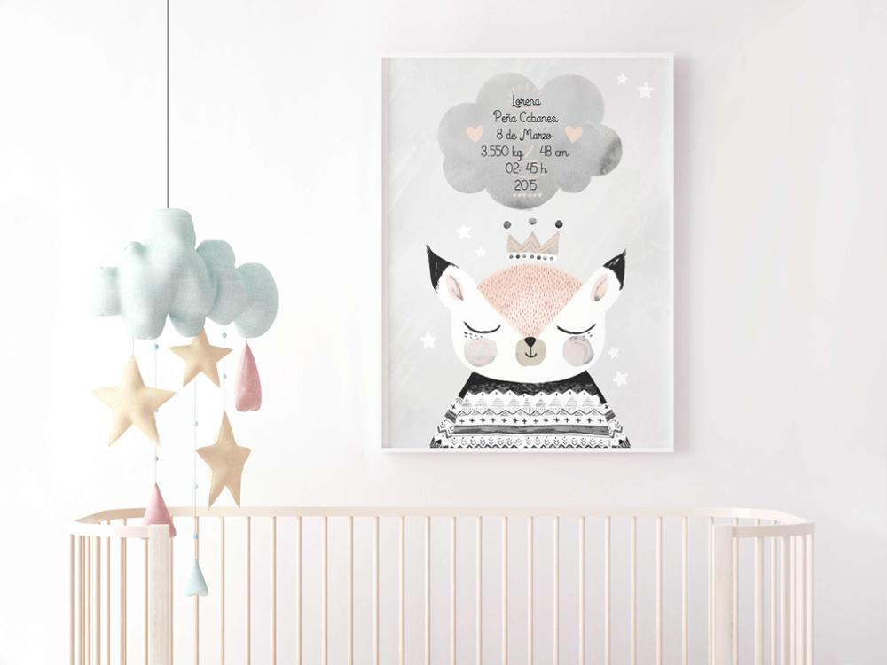 Lámina Nacimiento Foxy