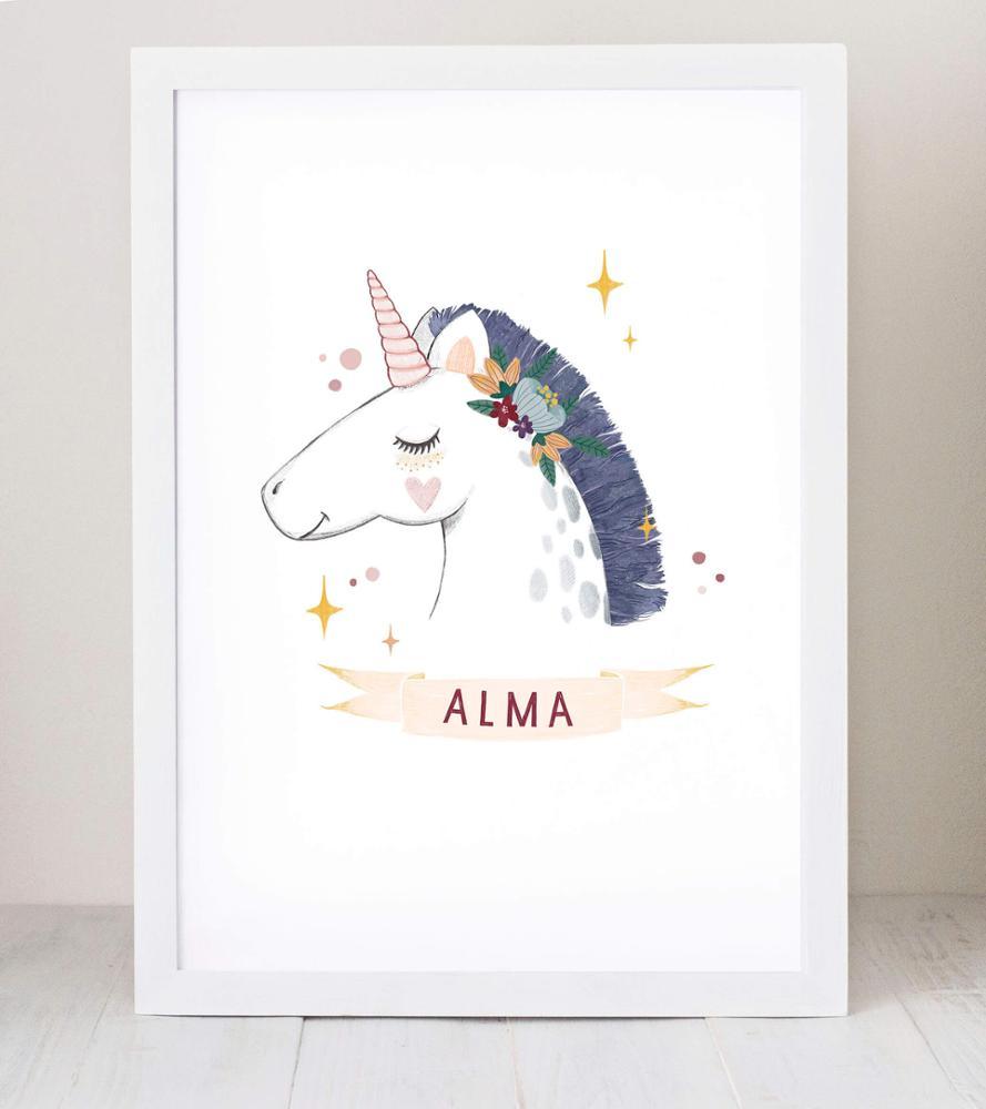 Lámina Unicornio | Cuquina