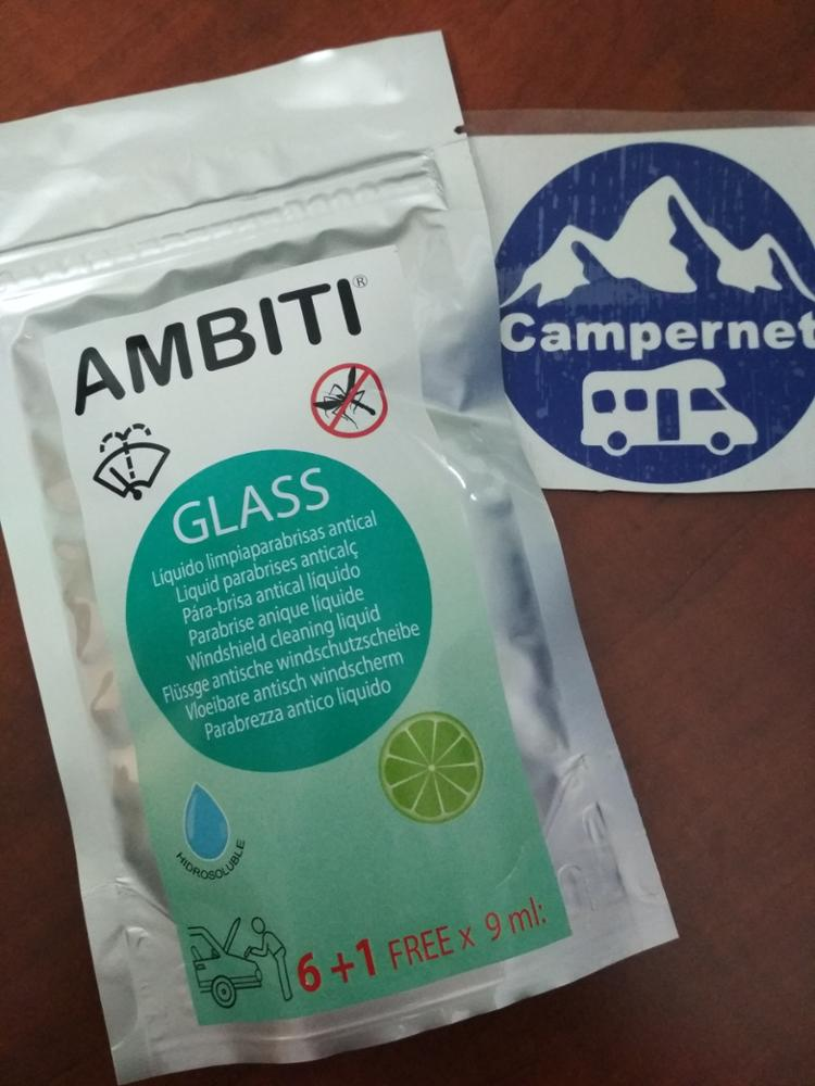 AMBITI GLASS LIMPIAPARABRISAS CONCENTRADO