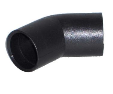 CODO 45º PVC NEGRO                                          Ref. 2865