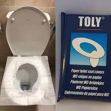 PAPEL PARA TAZA WC TOLY