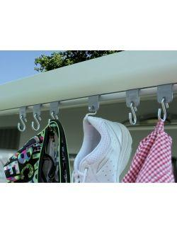 FIAMMA ENGANCHES TOLDO PACK6     Ref. 1150