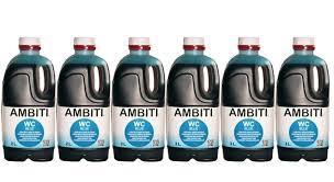 AMBITI CAJA 6 UNIDADES BLUE 2 LITROS