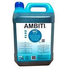 AMBITI CAJA 5 UNIDADES BLUE GARRAFA 5 LITROS