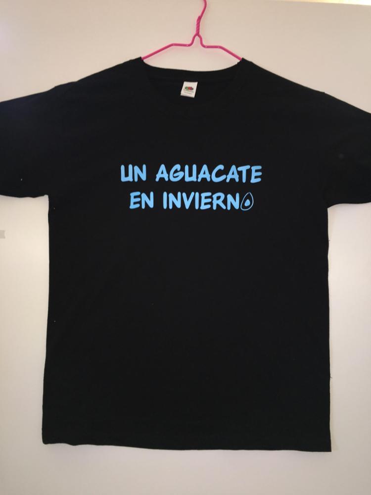 Camiseta Azul Aguacate