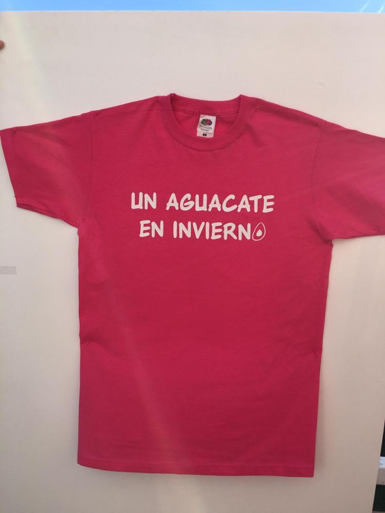Camiseta Rosa Aguacate