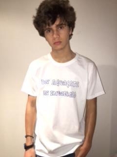 Camiseta Caligrafía Aguacate