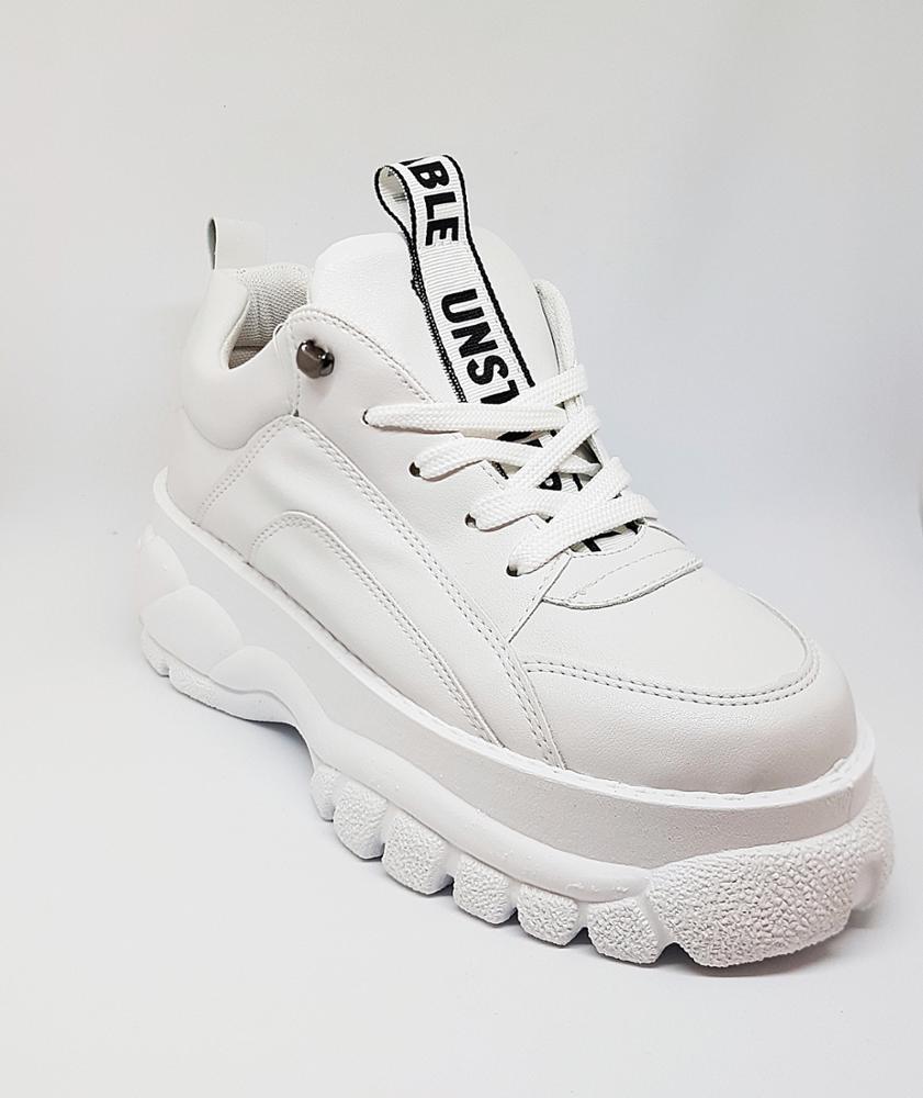 Novedad Sneakers blancas plataforma