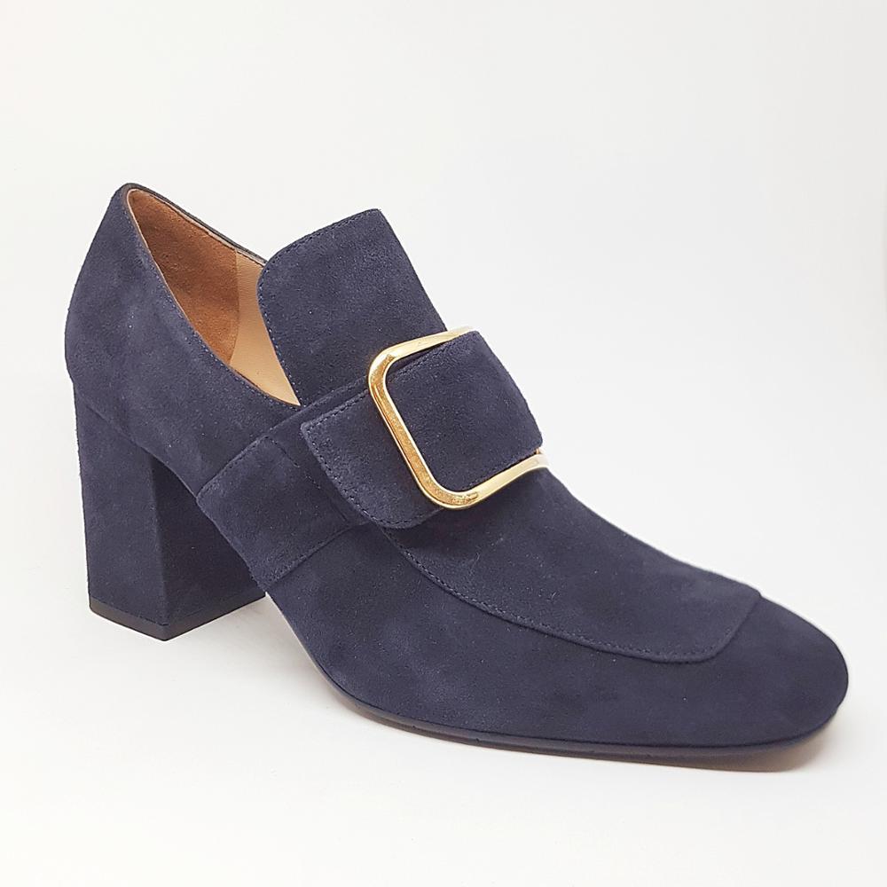 Novedad Zapato azul hebilla