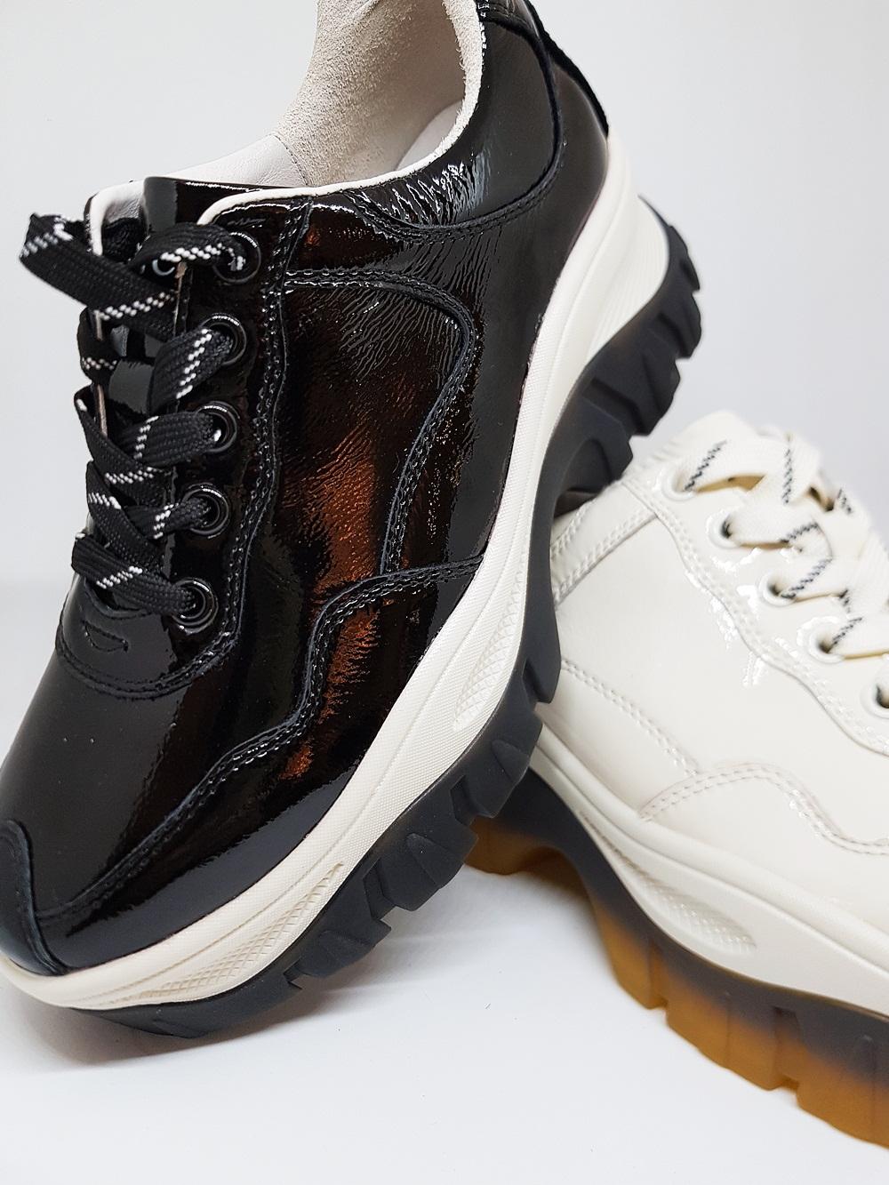 Novedad Sneakers piel charol