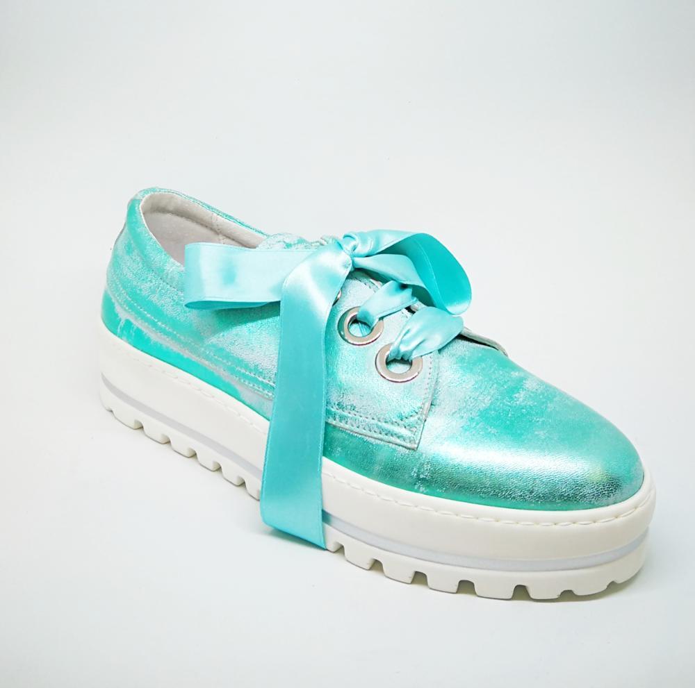 Sneaker aqua
