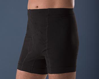 Corsinel Boxer cintura baja color Negro