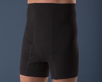 Corsinel Boxer cintura alta color Negro