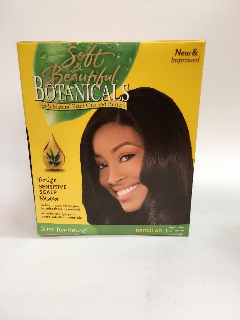 BOTANICALS RELAXER KIT REGULAR