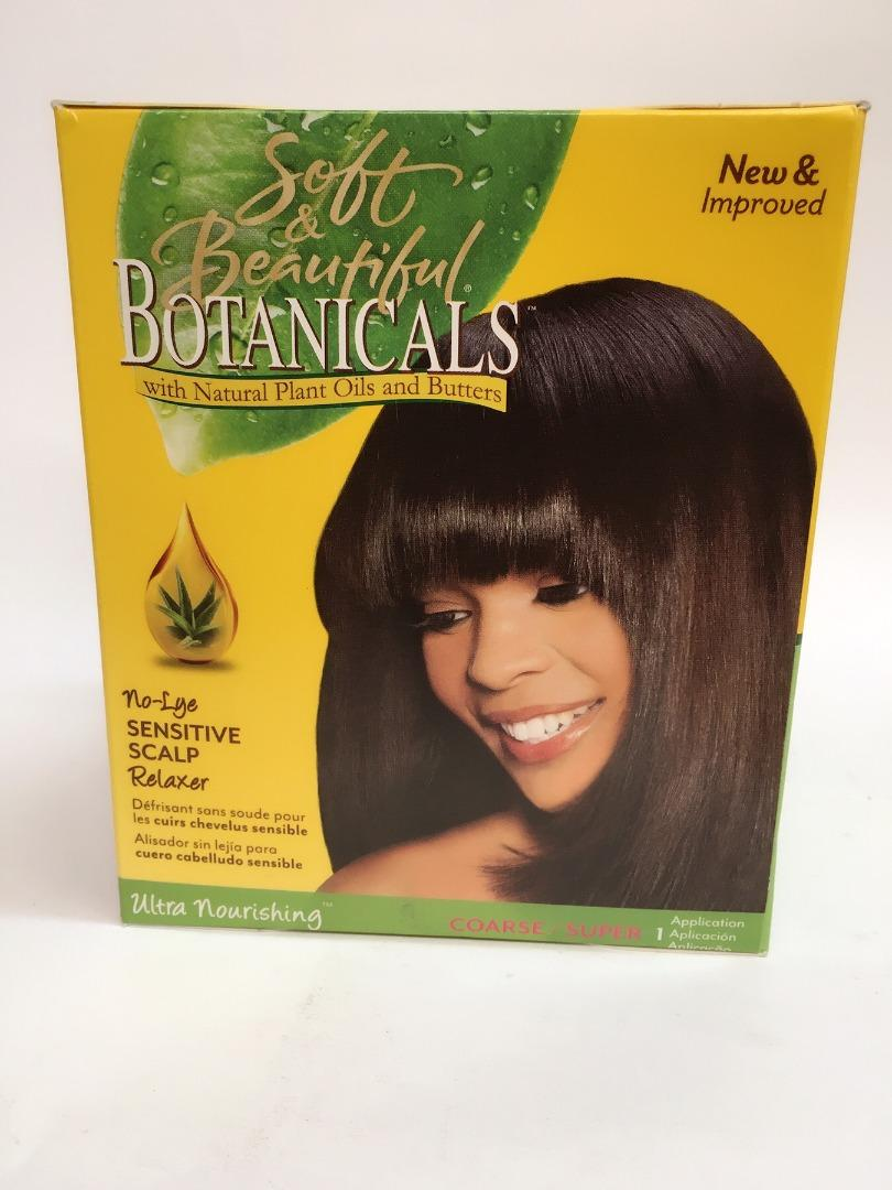 BOTANICALS RELAXER KIT SUPER
