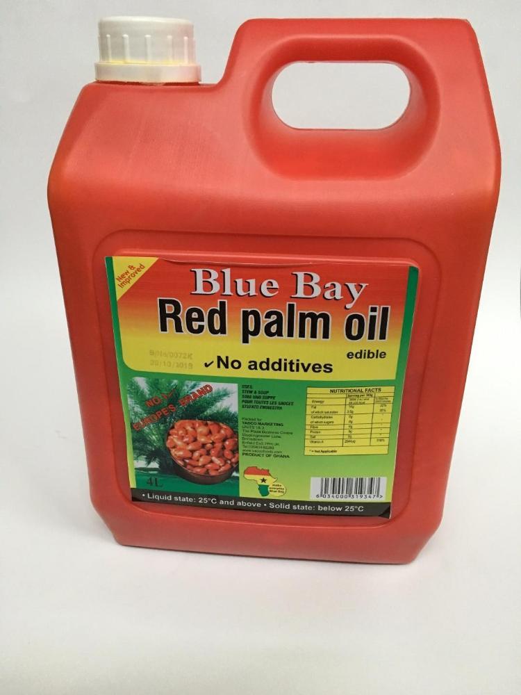 BLUE BAY PALM OIL 4 L