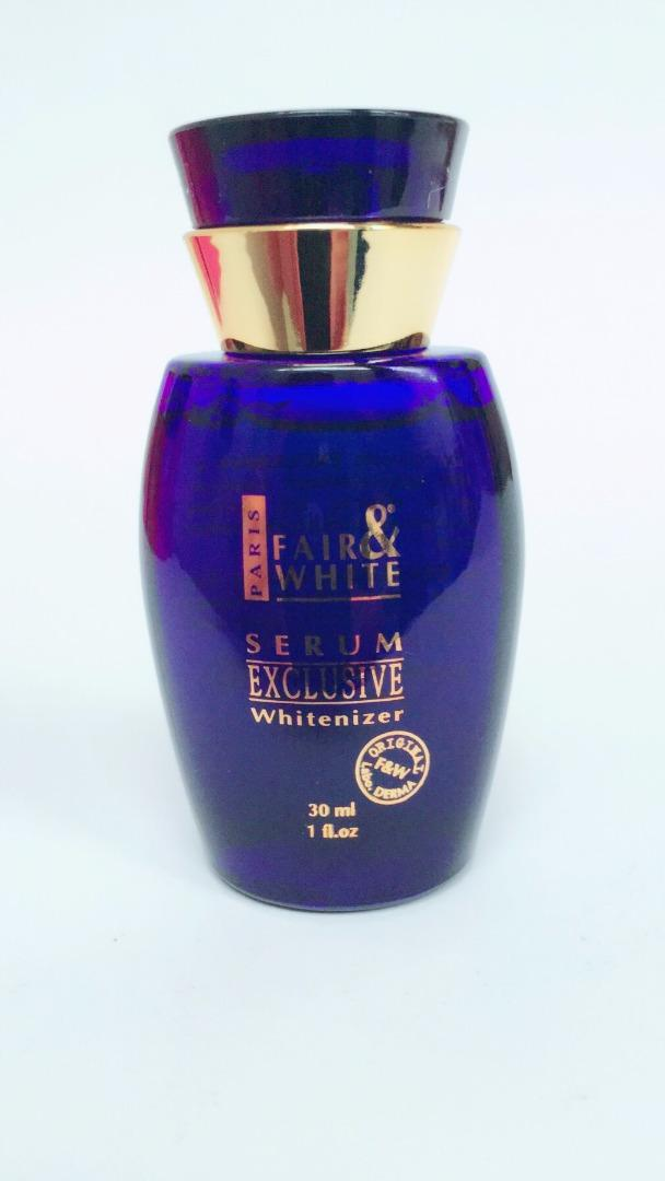 FAIR & WHITE EXCLUSIVE SERUM