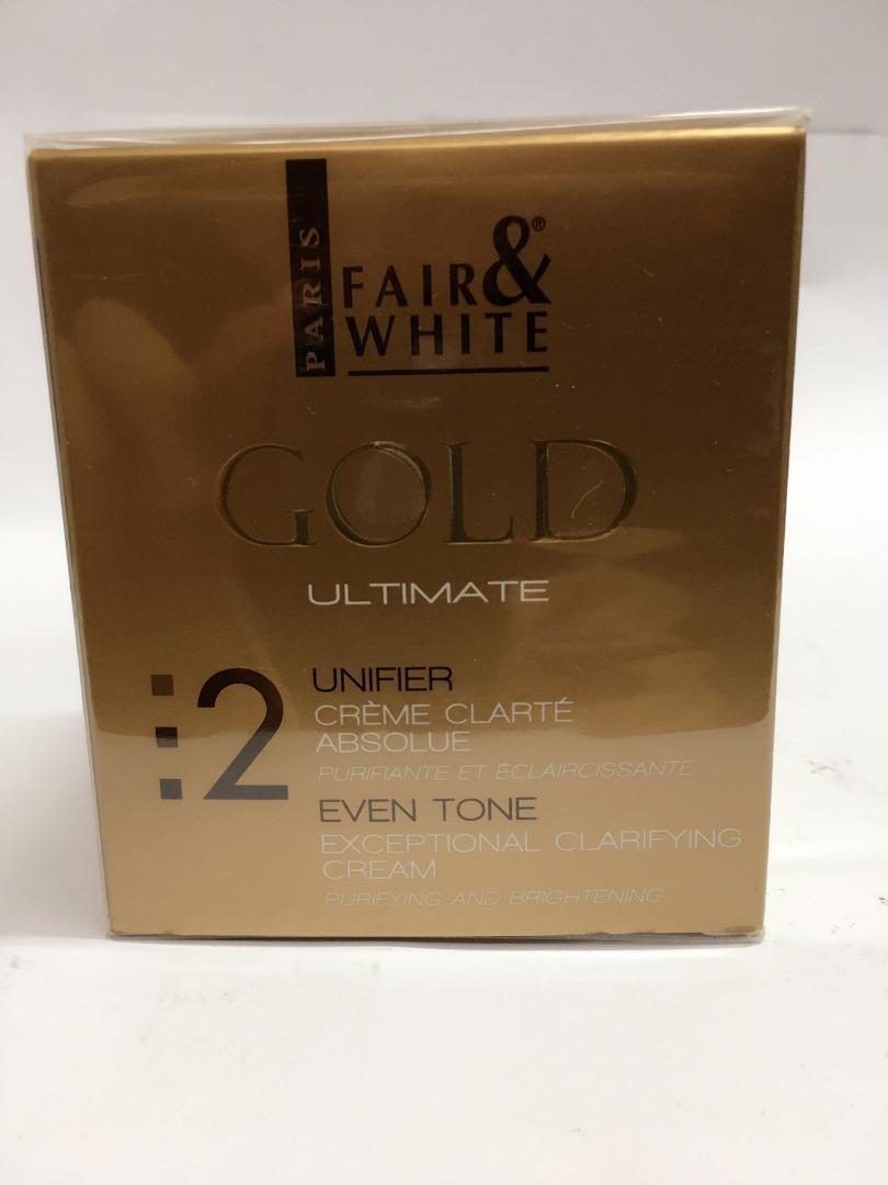 FAIR & WHITE GOLD FADE CREAM