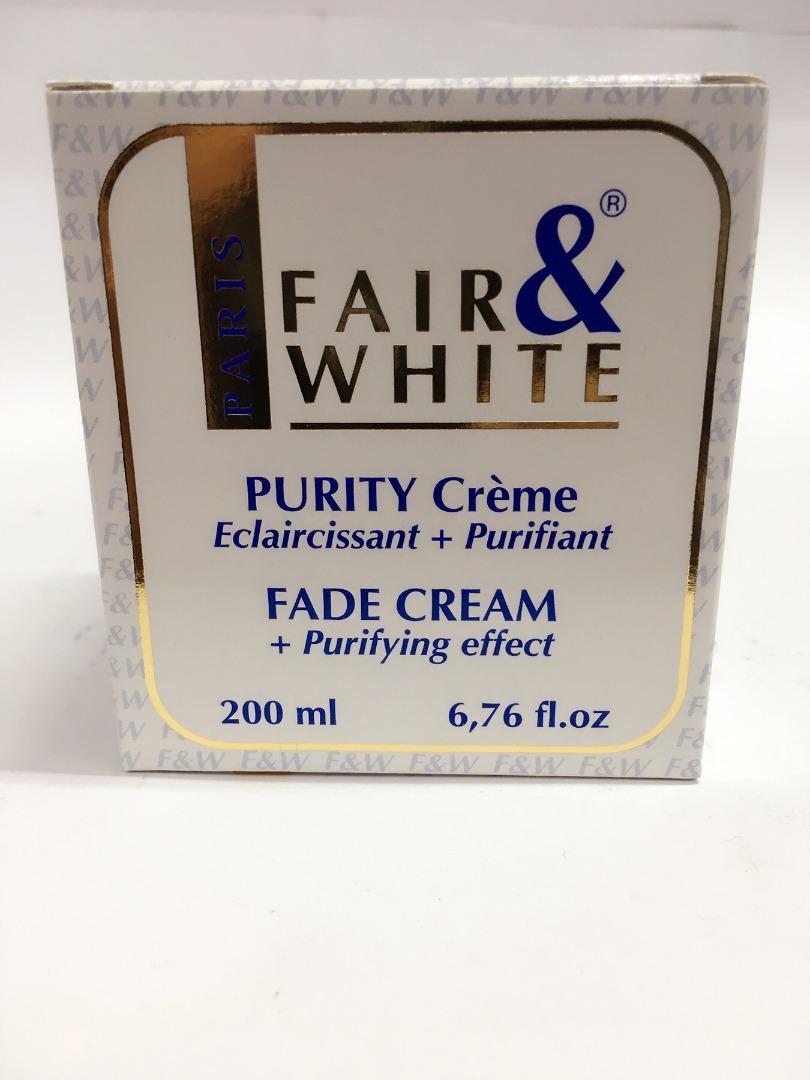 FAIR & WHITE PURITY FADE CREAM