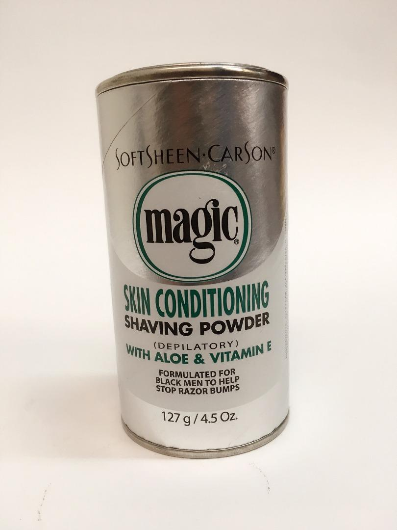 MAGIC SHAVING POWDER SILVER ALOE