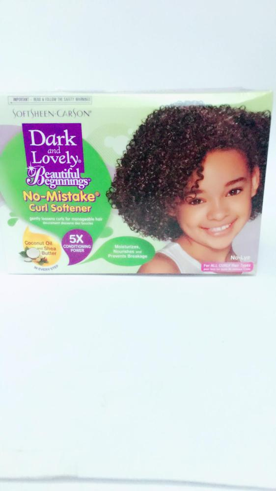 DARK  LOVELY  B. B. CURL SOFTENER