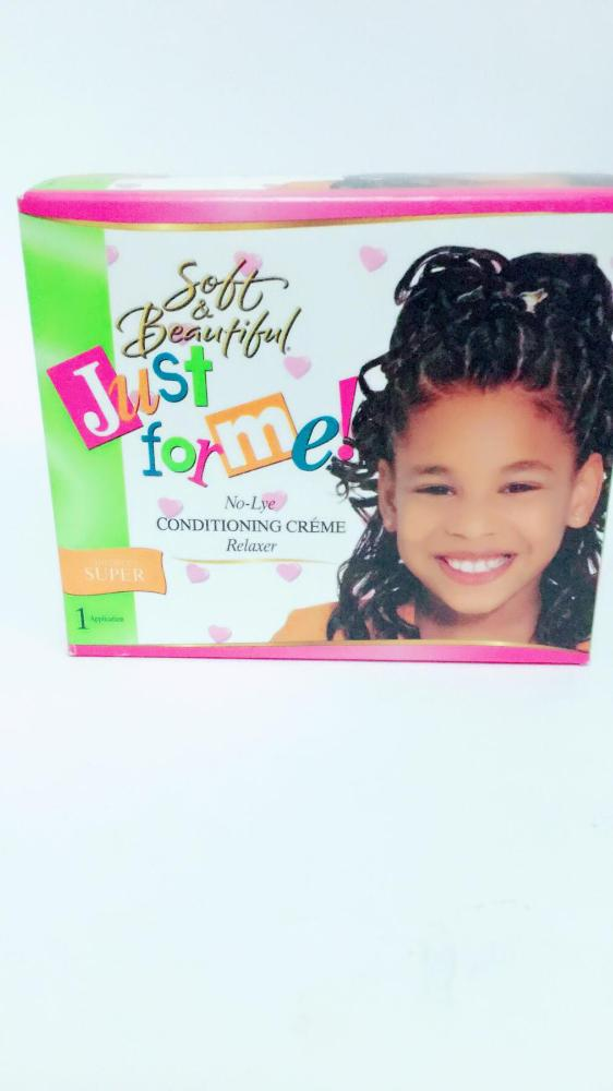JUST FOR ME CHILDREN  RELAXER KIT SUPER
