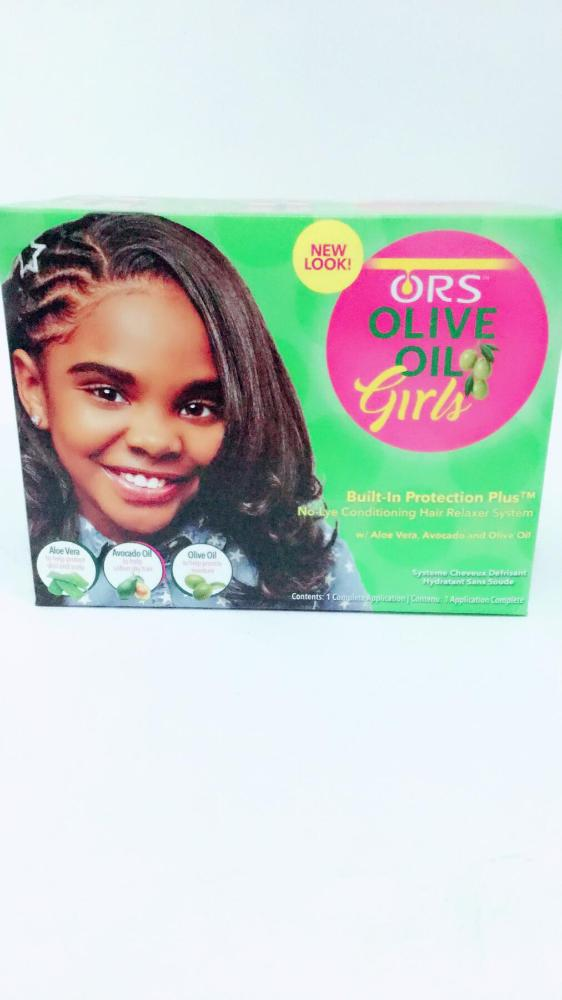 ORS OLIVE OIL RELAXER KIT GIRLS
