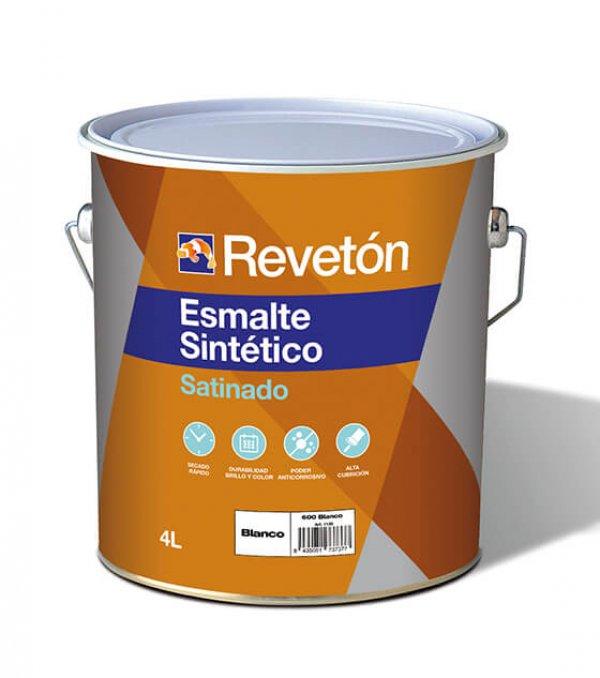 Revetón Esmalte sintético satinado 4L