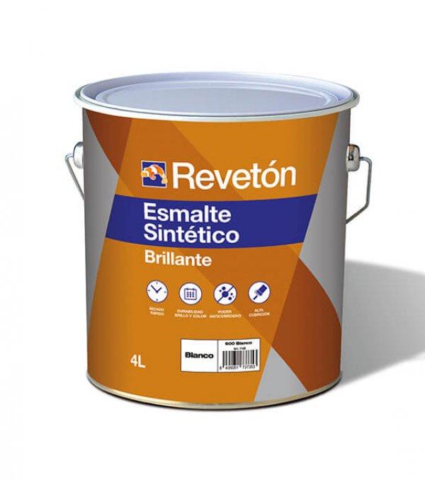 Revetón Esmalte sintético brillante 4L