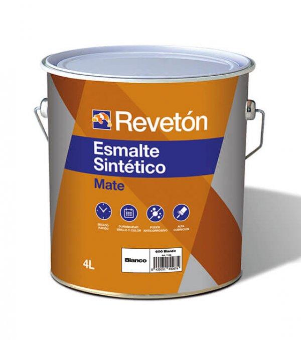 Revetón Esmalte sintético mate 4L