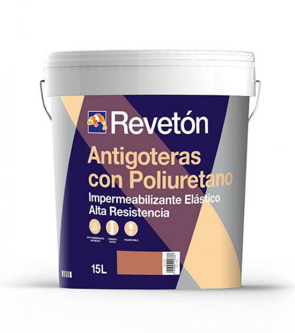 Revetón Impermeabilizante con poliuretano 4L