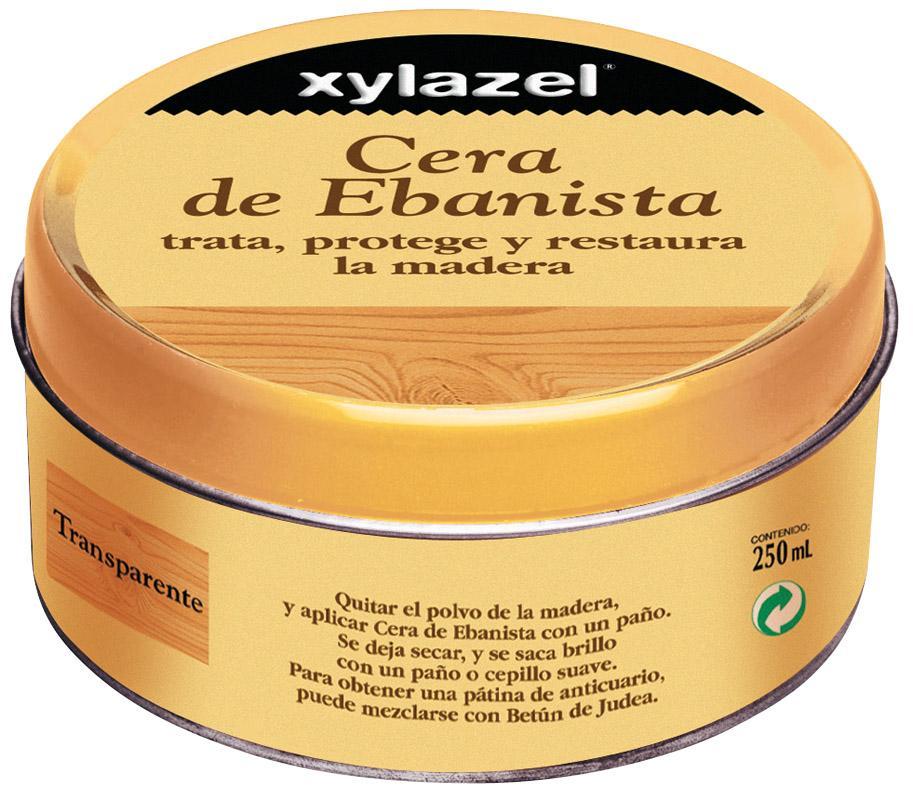 Xylazel Cera de ebanista transparente 250ml