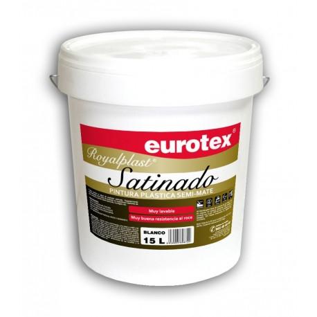Eurotex Pintura plástica satinada 15L