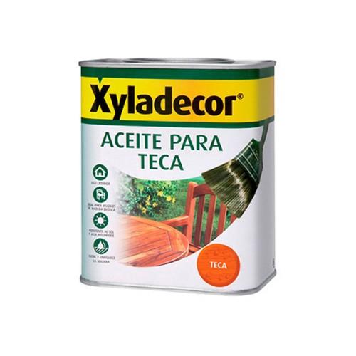 Xyladecor Aceite de teca 750ml CON TARA ESTÉTICA