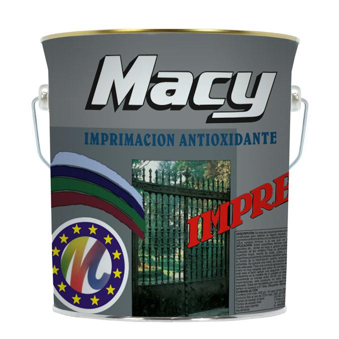 Macy Imprimación antioxidante secado rápido negro 4L