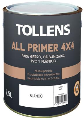 Tollens Imprimación sintética 4X4  2,5 L