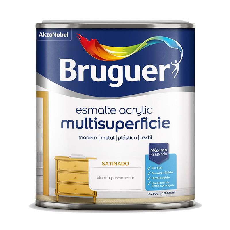 Bruguer Esmalte acrílico satinado 250ml - 750ml