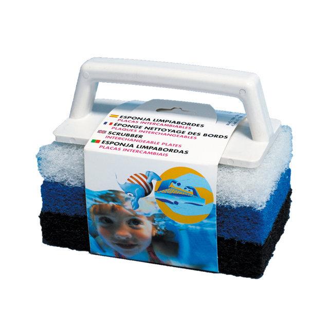PQS Esponja limpiabordes placas intercambiables