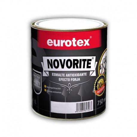 Eurotex Esmalte antioxidante forja negro 4 L