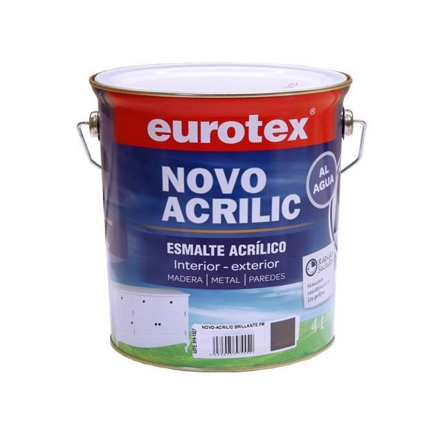 Eurotex Esmalte acrílico satinado-mate-brillo 4L