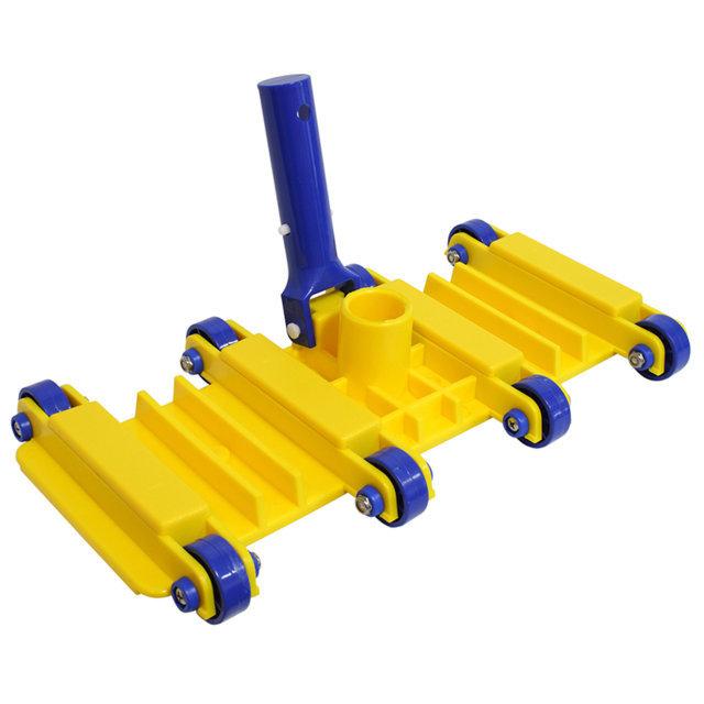 PQS Limpiafondos flexible 8 ruedas