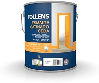 Tollens Esmalte acrílico satinado-mate-brillo 4L