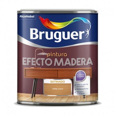 Bruguer Esmalte efecto madera 250ml - 750ml