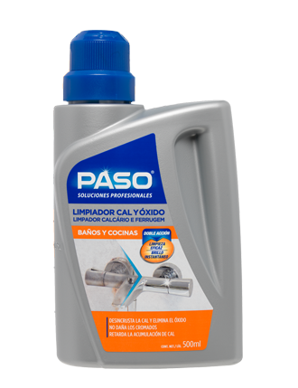 Paso Limpiador de cal y óxido 500ml