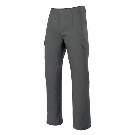 Velilla Pantalon multibolsillos gris