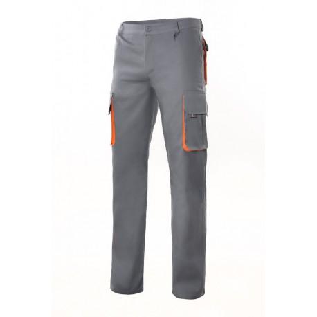 Velilla Pantalon multibolsillos biocolor