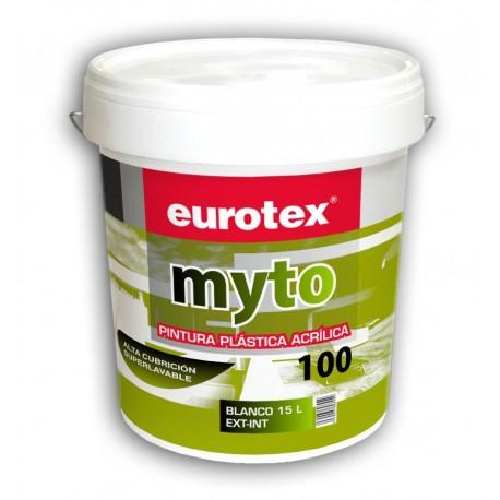 Eurotex Pintura plástica int/ext 15 L