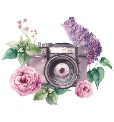 FDC Vinilo floral 1003
