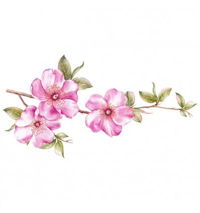 FDC Vinilo floral 1007
