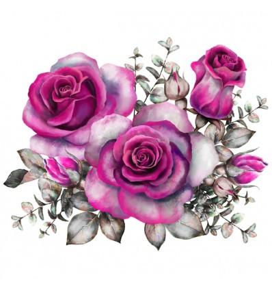 FDC Vinilo floral 1008